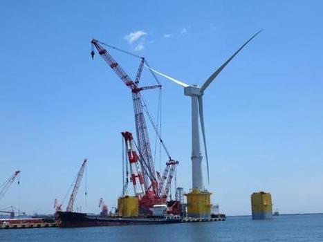 World's Largest Offshore Wind Turbine Comes Online Near Fukushima Daiichi | Fukushima | Scoop.it