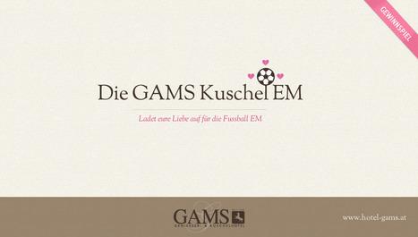 Gewinnspiel: Die GAMS Kuschel EM | Willkommen im Blog des GAMS, Geniesser- und Kuschelhotel Österreich | Scoop.it