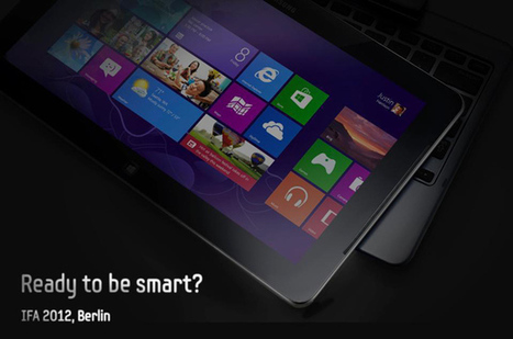 Samsung to reveal Windows 8 transforming tablet at IFA 2012 | Microsoft | Scoop.it