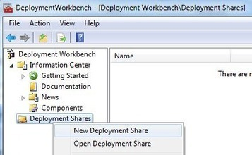 Use PowerShell to Create Deployment Shares for Microsoft Deployment Toolkit | PowerShell | Scoop.it