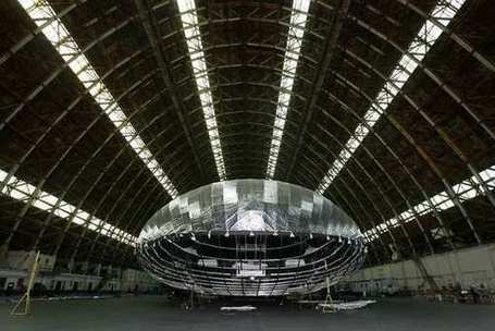 Construction is complete on behemoth airship; first flight planned | Rise of the Drones | Scoop.it