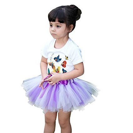 OHLEES Girls Tutu Skirt Pettiskirt Dance Christmas Party Dress Size M | Health and Beauty Care | Scoop.it