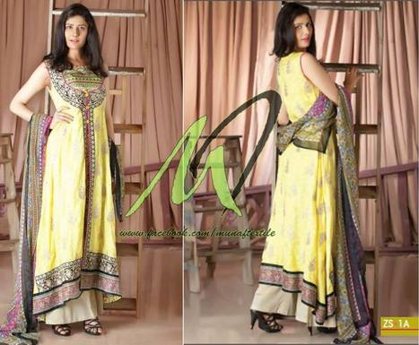 Munaf Textiles & Z.S Textiles Dresses Collection   fashion   Scoop.it