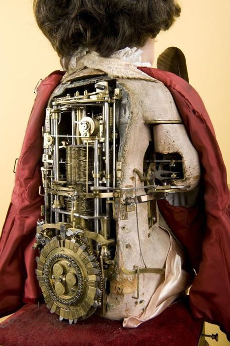 240-Year-Old Writer Automaton is the Ancestor of Today's Computers | Strange days indeed... | Scoop.it