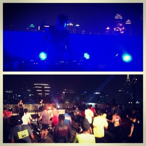 .@agnipratistha   Nike Training Club with DJ Dipha on a rooftop. #bajakjkt   BajakJKT   Scoop.it