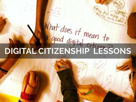 """Digital Citizenship Lessons"" - A Haiku Deck by Susan Spellman Cann | @GregEsteves | Scoop.it"