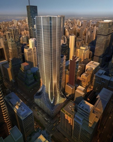 Unveiled: 425 Park Ave Finalist Designs By Hadid, OMA, And Rogers | The Architecture of the City | Scoop.it