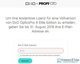 Offre promotionnelle : DxO Optics Pro 9 Elite gratuit ! | Freewares | Scoop.it