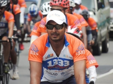 (Photos) Sangakkara riding at 1333 Bikeathon | Warren55 | Scoop.it