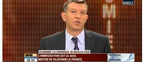 Video L'économie française a besoin de 10 millions d'immigrés d'ici à 2040 - BFMTV | Front National | Scoop.it