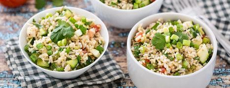 Hollywood Bowl Brown Rice Salad Recipe | Vegan Food | Scoop.it