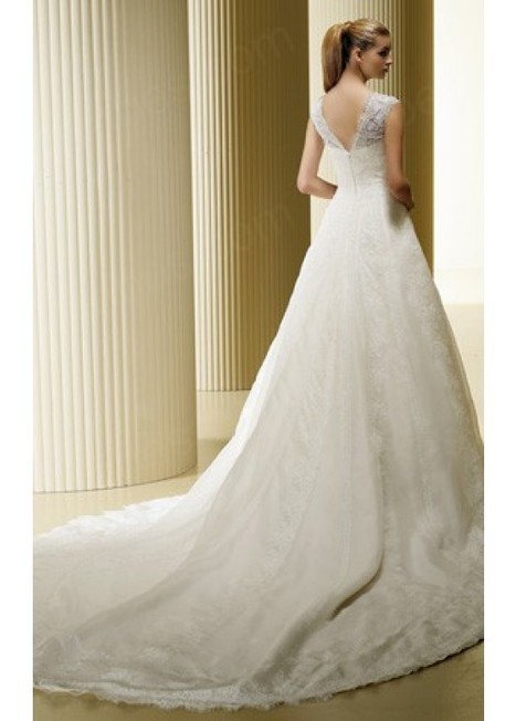 New Tulle A-Line Square Bridal Wedding Dresses | Fashion Dresses | Scoop.it