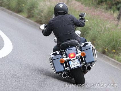 Essai Harley-Davidson Road King 2016 - Moto Station | Balade et voyage moto, coté pratique ! | Scoop.it