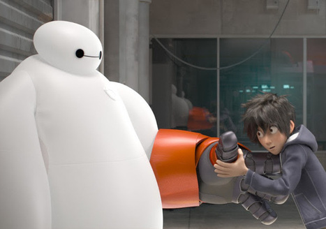 New Images From Disney Animation's Marvel Movie 'Big Hero 6' - Indie Wire (blog)   Machinimania   Scoop.it