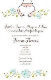 Get Baby Bottom Boy Invitation Online | Shop for Home | Scoop.it