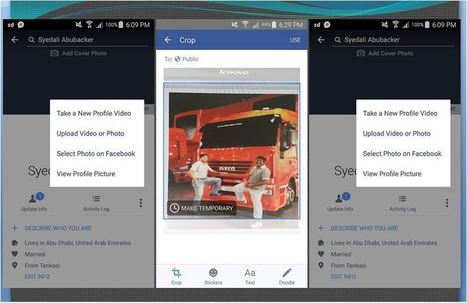 An Easy Way You Can Set A Temporary Profile Image On Facebook | GoToWebsites | Scoop.it