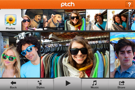 Instagram for Video: Ptch | Didactics and Technology in Education | Scoop.it
