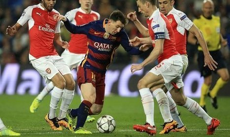 Arsenal's Arsène Wenger full of admiration for the 'artists' of Barcelona - The Guardian | AC Affairs | Scoop.it