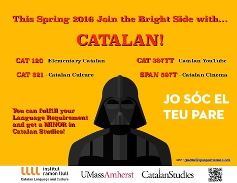 Catalan Course Offerings for Spring 2016! | The UMass Amherst Spanish & Portuguese Program Newsletter | Scoop.it