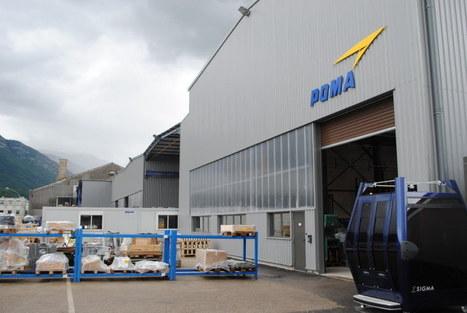 Poma investit 20 millions d'euros dans son développement industriel   made in isere - 7 en 38   Scoop.it