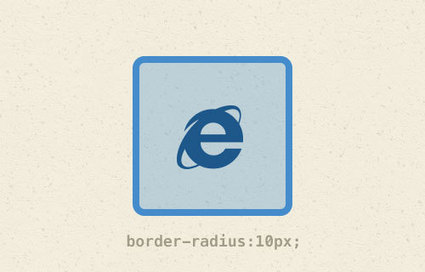 How to Enable CSS3 Border Radius in Internet Explorer 8 and below | Beautiful web design and logo inspirations | Scoop.it