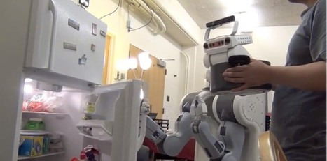 Grâce à Kinect, un robot anticipe et assiste les actions humaines | Des prototypes et des idées en herbe | Scoop.it