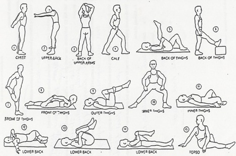 Home Exercises and Stretches, Charlotte Chiropractors North Carolina | Fitness | Scoop.it