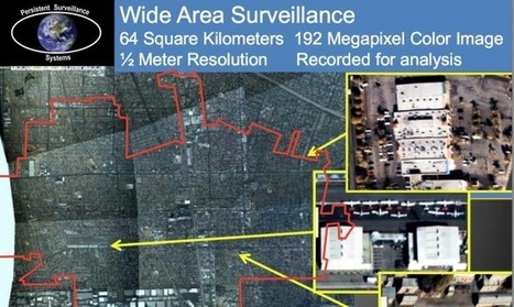 The airborne panopticon: How plane-mounted cameras watch entire cities | Amazing Science | Scoop.it