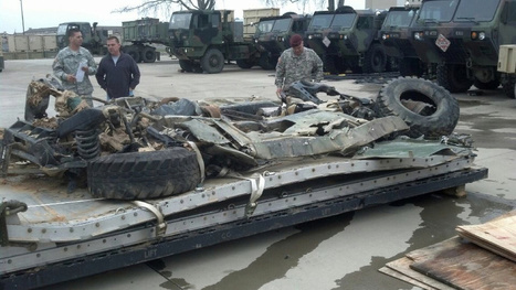 What Happened To This Flattened Truck? - Jalopnik | brake failure | Scoop.it