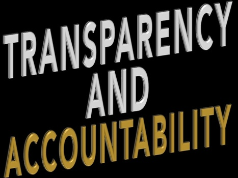 On transparency and accountability | The Transparent Society | Scoop.it