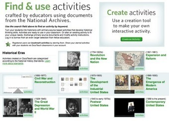 Free Technology for Teachers: Create Your Own Interactive Primary Source Document Activities | Middle School Mania | Scoop.it
