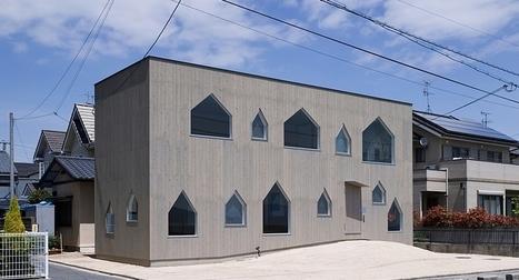 [maison du jour] Des touches contemporaines et orientales pour cette maison bois face à la mer, Japon | décoration & déco | Scoop.it