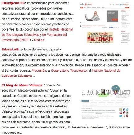 10 blogs con información útil y de interés para la comunidad educativa | Entorns Virtuals d'Aprenentatge i Recursos Educatius WEB 2.0 | Scoop.it