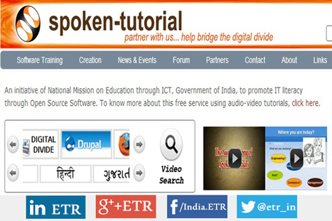 Spoken Tutorial: Free Resource for IT literacy through Open Source Software - EdTechReview™ (ETR) | Aprendiendo a Distancia | Scoop.it