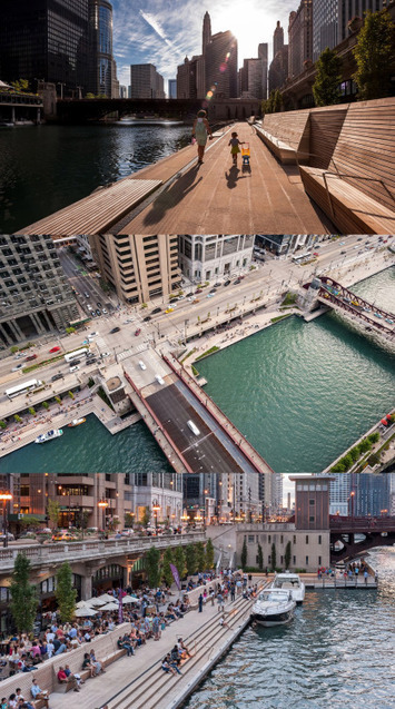 Chicago's new Riverwalk offers a vision of the... - eco3tree | Eco Friendly | Scoop.it