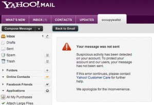 Yahoo Appears To Be Censoring Email Messages About Wall Street Protests (Updated) | Human Rights and the Will to be free | Scoop.it