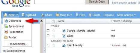 Michael Penney's Blog: Google Docs-Moodle tutorial | English Learning House | Scoop.it
