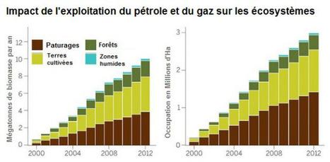Étude: Aux États-Unis, le boom du pétrole et du gaz de schiste a dévasté les écosystèmes   Pétrole et gaz de schiste   Scoop.it