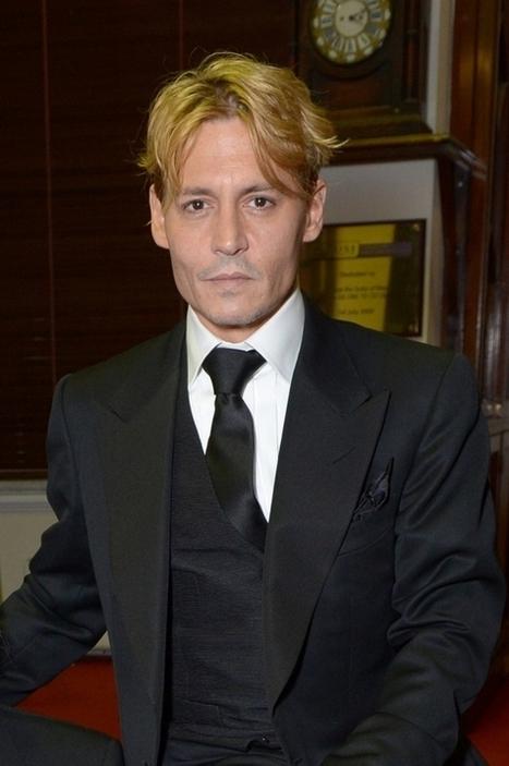 The Voice - Johnny Depp värjäsi hiuksensa vaaleiksi - katso kuva | Johnny Depp | Scoop.it
