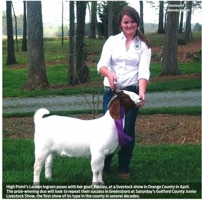 Livestock culture restored in Guilford | Yes Weekly | North Carolina Agriculture | Scoop.it