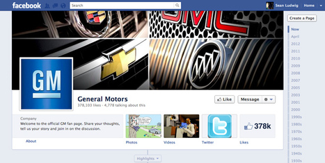 General Motors unfriends Facebook, says report | News from the Internet World - Nouvelles de l'Internet | Scoop.it