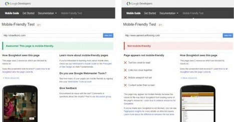 SEO: How Google's 'Mobile-friendly' Update Affects Performance - Practical Ecommerce | Websites - ecommerce | Scoop.it