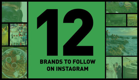 12 Brands to Follow on Instagram | Visual Social | Scoop.it