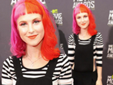 Hayley Williams arrives at the MTV Movie Awards 2013 with Paramore - Pics - Sugarscape | Paramoreband | Scoop.it