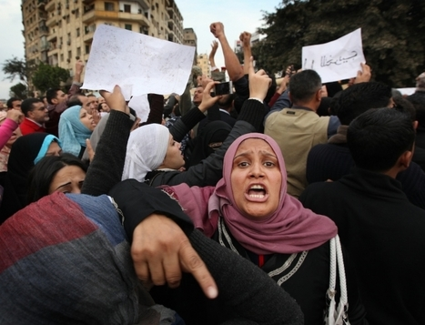 Assaults on Egyptian Women Peak in Protest, Group Says | Égypt-actus | Scoop.it
