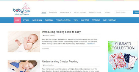 Babyhugz announces its digital platform that provides holistic solutions to new parents for all their baby-related quandaries- Pocket News Alert | Simon Thomas Scoop | Scoop.it