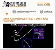 La Khan Academy s'ouvre à la Francophonie | Thot Cursus | Technologeons (verbe du premier groupe) | Scoop.it