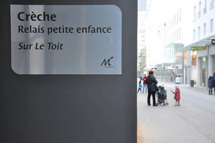 Ville de Montreuil : La crèche Sur le Toit vient d'ouvrir en coeur de ville . MONTREUIL | Parisian'East, la communauté urbaine des amoureux de l'Est Parisien. | Scoop.it
