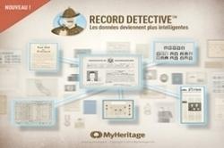 Deux nouveautés chez MyHeritage : Record Detective et Extraire l'info | Histoire Familiale | Scoop.it