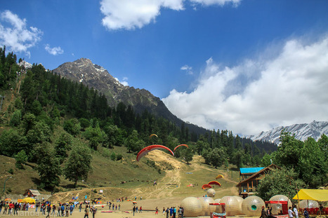 Solang Valley In Manali Is Going To Hold It's First-Ever Paragliding Competition   365 Hops-Adventure Tours   Scoop.it